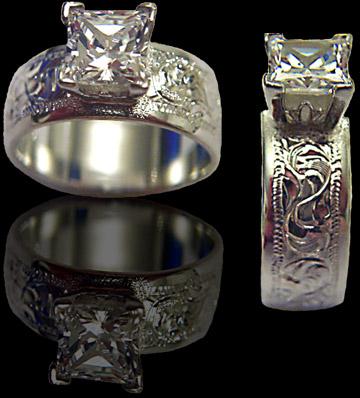splash 2010 cowboyjewelerscom - Western Wedding Rings